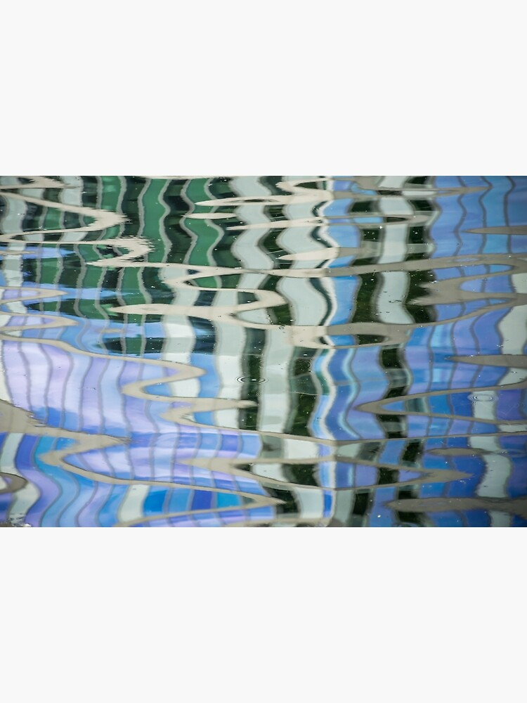Water reflection colorful pattern by tdphotogifts