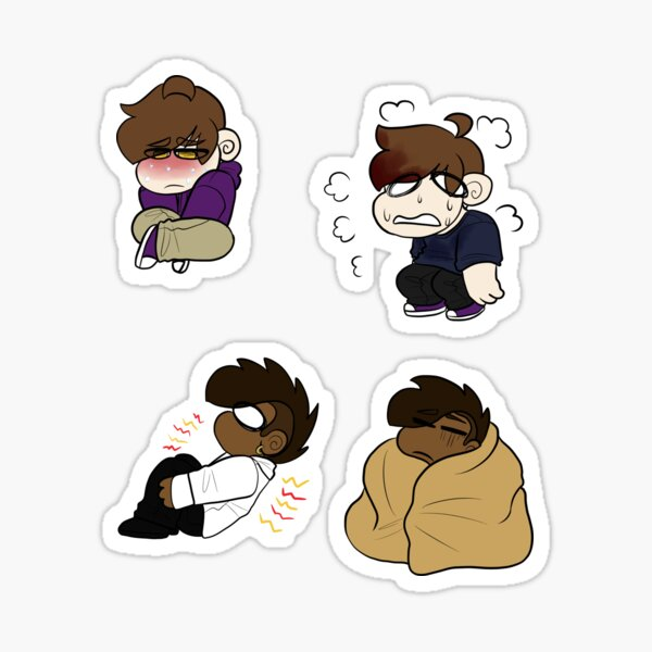 Power Pills Sticker Pack: Tired and Out of It 01 Sticker
