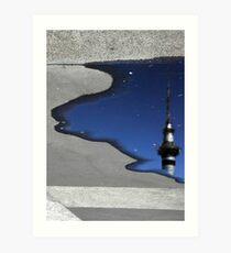 Tower Reflection Art Print