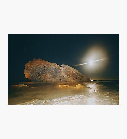 ELECTRIC MOONBEAM Photographic Print