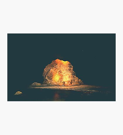 ELECTRIC ROCK Photographic Print