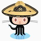 ★ Githat octocat Mexican by cadcamcaefea