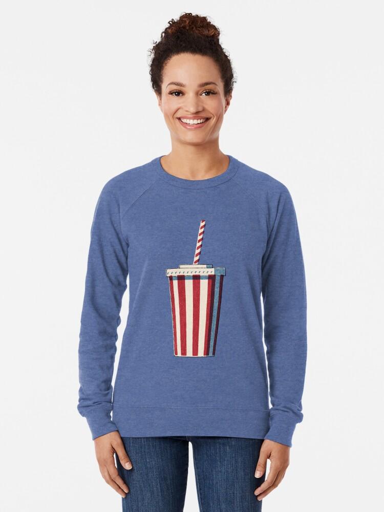 Alternative Ansicht von FAST FOOD / Softdrink Leichter Pullover
