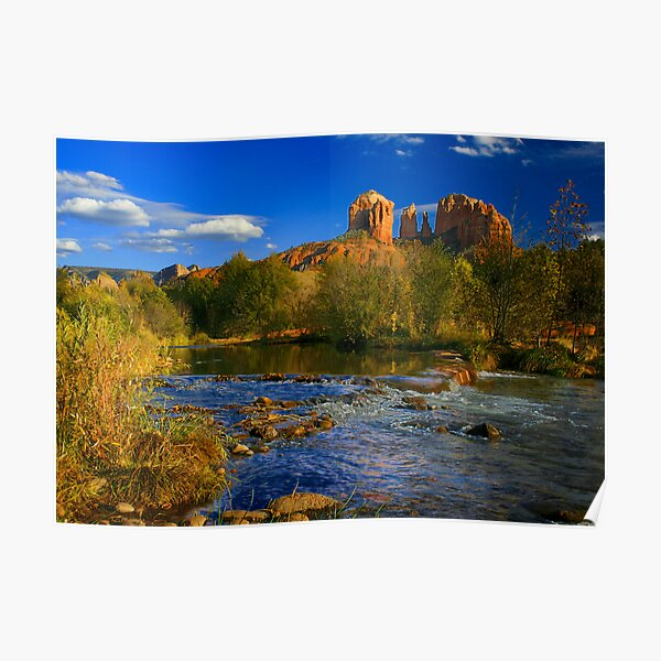 Cathedral Rock, Sedona, Arizona Poster