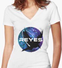 Rabe Reyes Shirt mit V-Ausschnitt