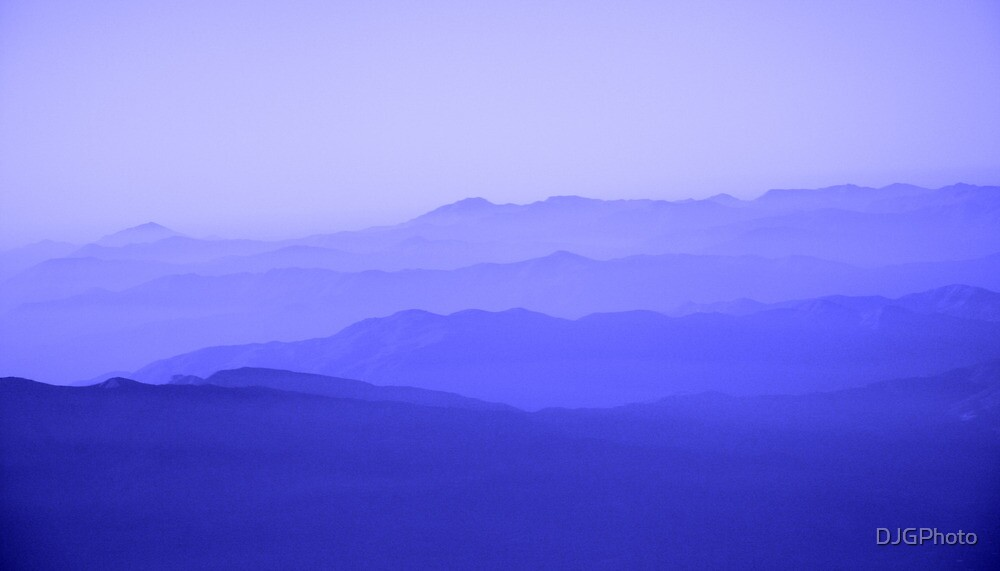 Mountain Blue by DJGPhoto