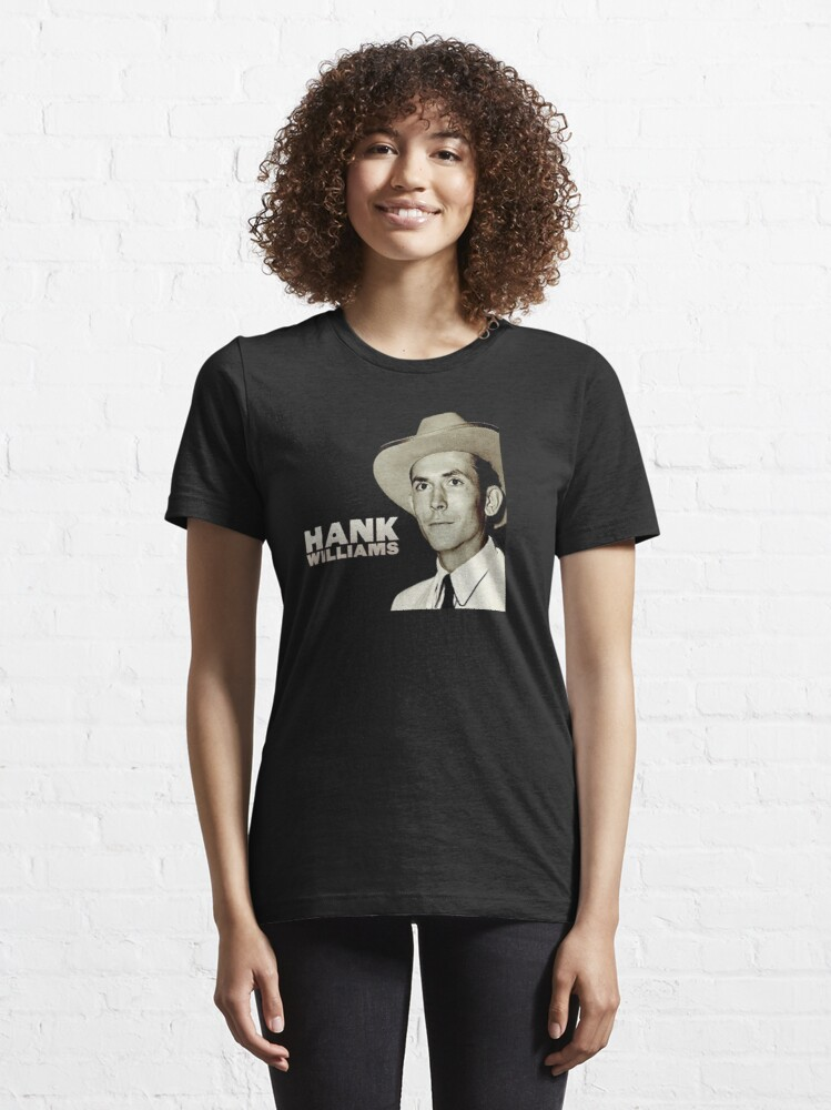 Alternate view of Hank Williams Essential T-Shirt