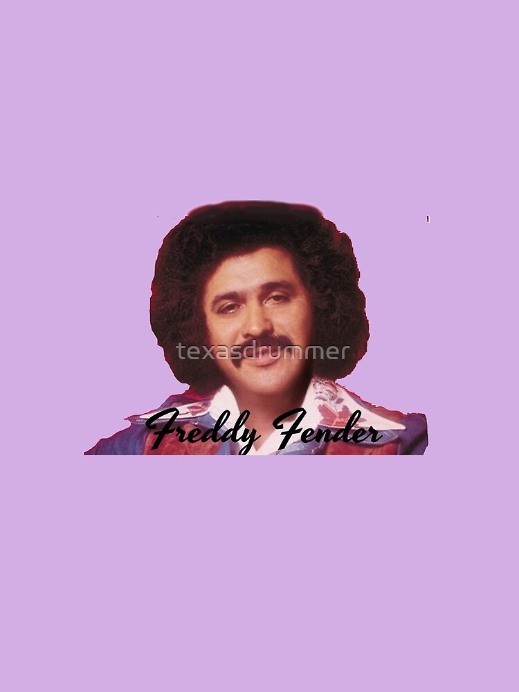 Freddy Fender by texasdrummer