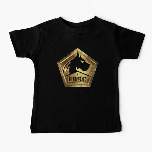 Lille OSC Gold T-shirt bébé