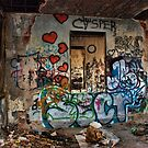 Abandoned Train Station by LizzieMorrison
