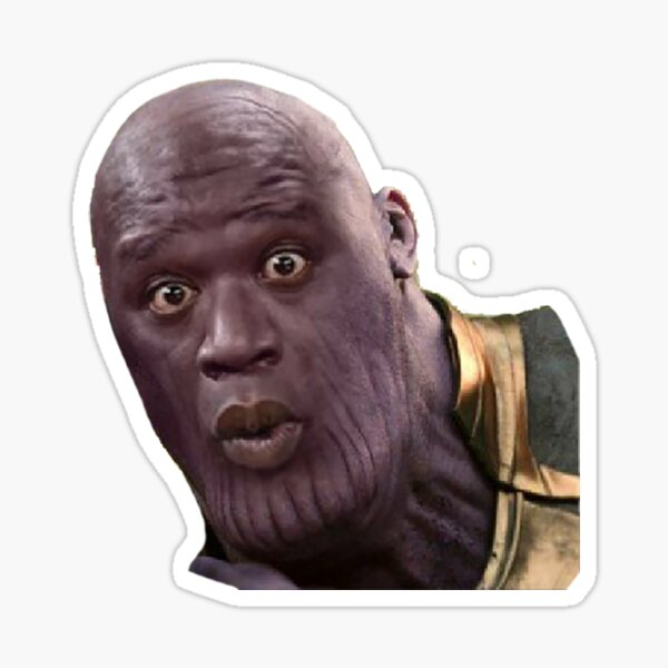 Thanos Sticker
