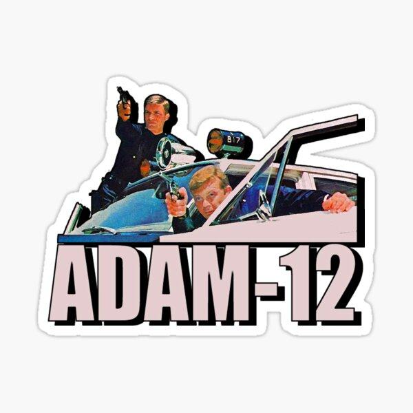 Retro one Adam 12 Tribute Sticker