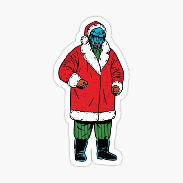 Santa Doom Sticker