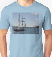 Tall Ships Departure, Fleet Review, Manly, Australia 2013 Unisex T-Shirt