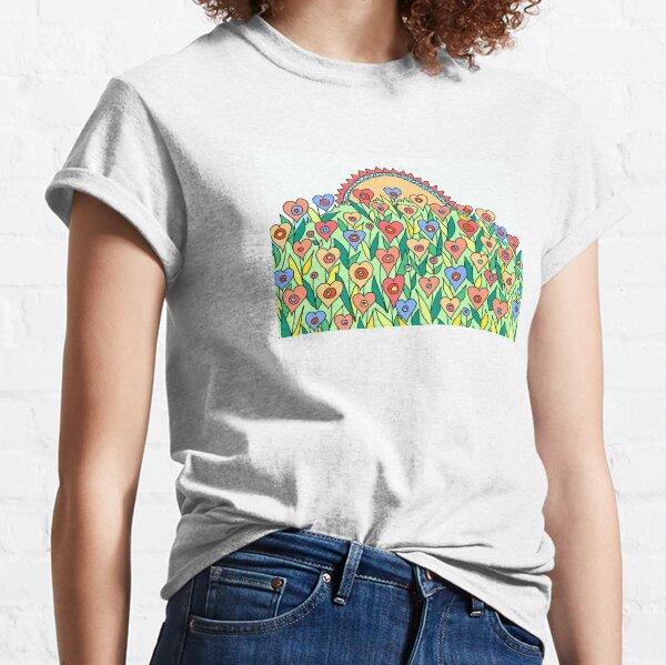 Meadow Flowers Sunrise Classic T-Shirt
