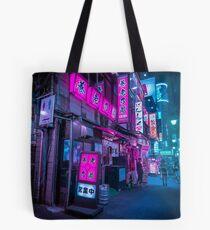 Kleine Straßen von Shinjuku Tote Bag