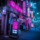 Small streets of Shinjuku by Guillaume Marcotte