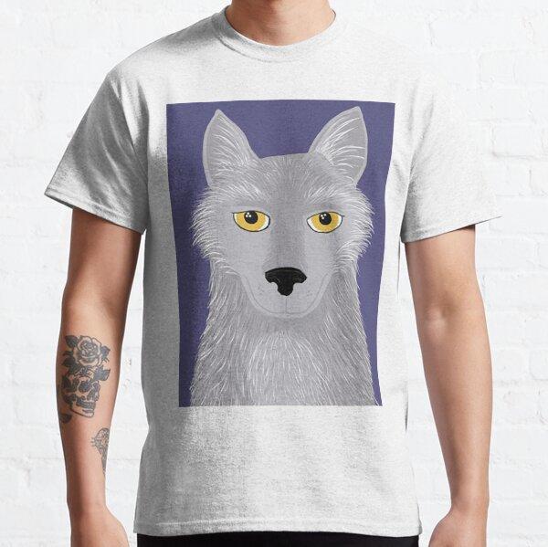 Hunter Grey Wolf Familiar Classic T-Shirt