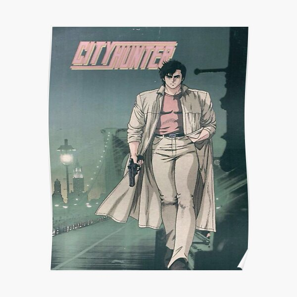 City Hunter - Ryo Saeba / Nicky Larson Poster