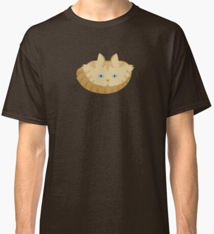 Frappé Brown Tabby Cat Cattern [Cat Pattern] Classic T-Shirt