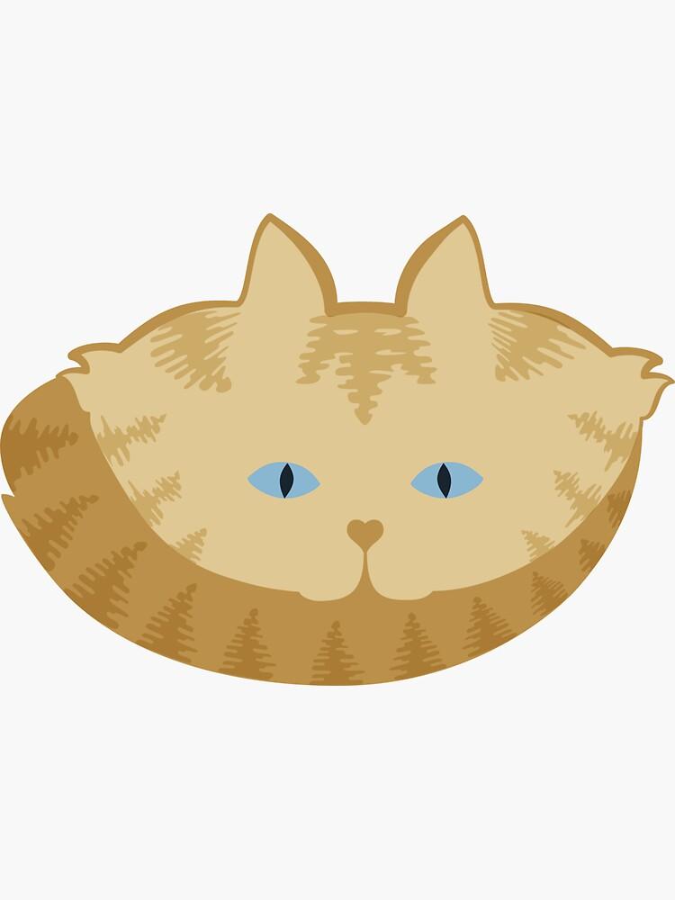 Frappé Brown Tabby Cat Cattern [Cat Pattern] by brentpruitt
