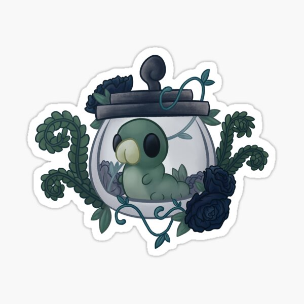 Hollow Knight Grub Sticker