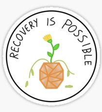Recovery is Possible Sticker