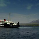 MV Isle  of Arran  Paps  of Jura  by Alexander Mcrobbie-Munro