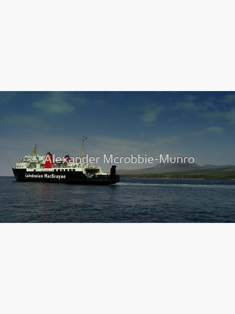 MV Isle  of Arran  Paps  of Jura  by Alexanderargyll