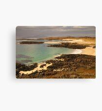 Sanna Bay, Ardnamurchan, Highland, Scotland Canvas Print