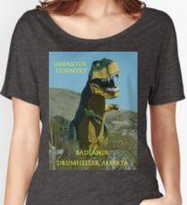 Dinasour Country, Drumheller Alberta Women's Relaxed Fit T-Shirt
