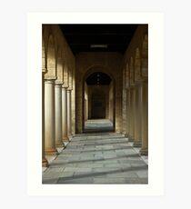 Colonnade 2 Art Print