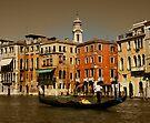 Gondala in Venice, Italy by Daniel H Chui