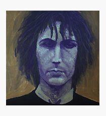 Syd Barrett - Purple Photographic Print