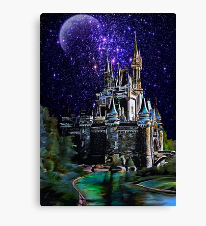 The Magic castle II Canvas Print