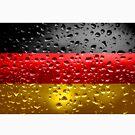 «Bandera de Alemania - Gotas de lluvia» de Dr-Pen