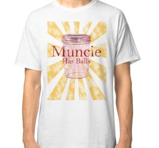 Quot Muncie Has Balls Quot Stickers By Apolloofbabylon Redbubble