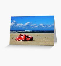 Beach Training Greeting Card