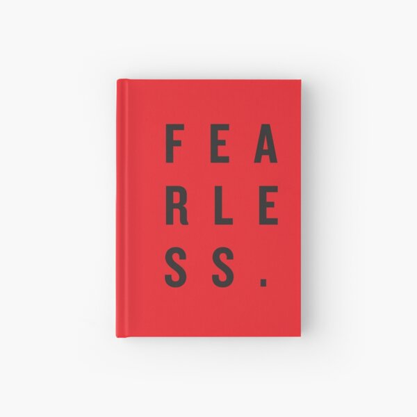 FEAR LESS. Hardcover Journal