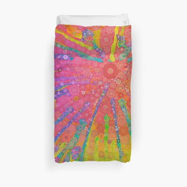 Happy Hippy Duvet Cover