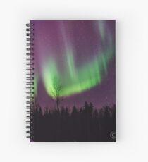 Northern Nights No ??? Spiral Notebook