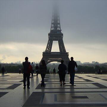 Eiffel Tower by Natassja