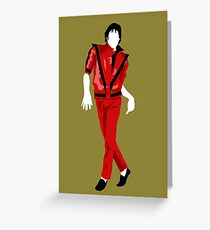 Thriller Greeting Card