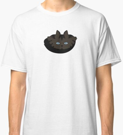 Espresso Brown Tabby Cat Cattern [Cat Pattern] Classic T-Shirt