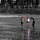 Selective colouring-bayside. by MrJoop