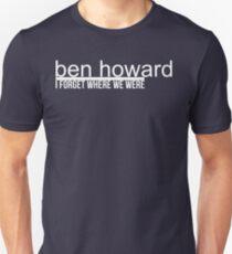 Ben Howard I Forget T-Shirt