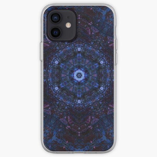 Ajna - kaleidoscopic chakra mandala  iPhone Soft Case