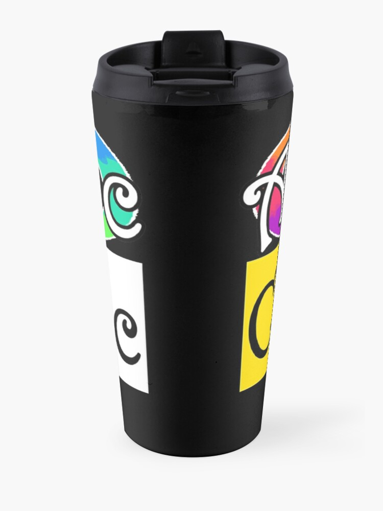 Alternate view of Autistic Catholic Travel Mug
