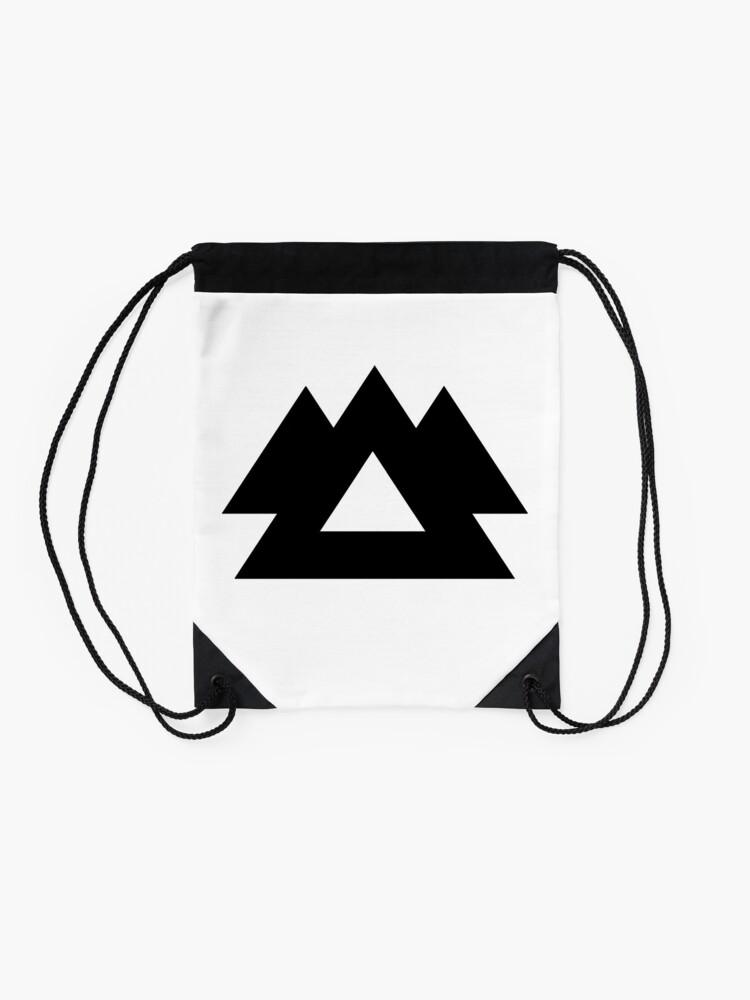 Alternate view of Wakaan Logo Drawstring Bag