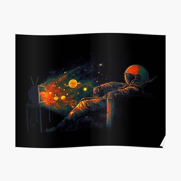 Cosmic Channel Poster